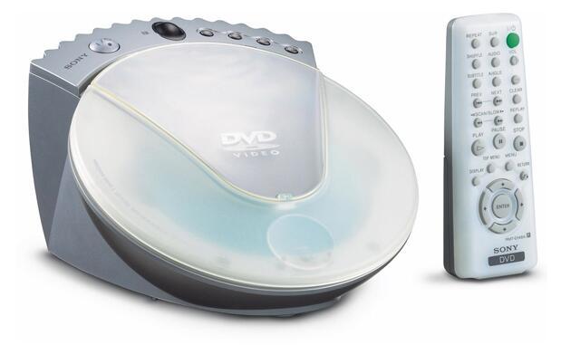 Reproductor de DVD de Sony