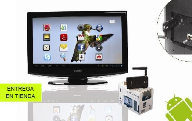 Transforma tu televisión en una Smart TV