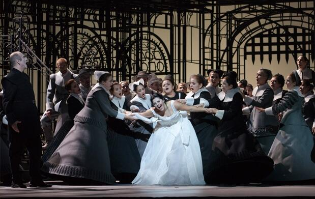 Opera I Puritani en Cines Palafox