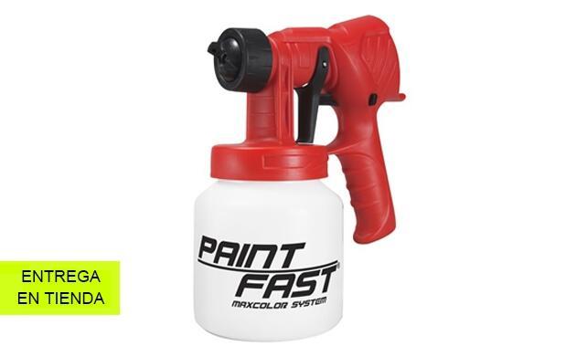Pistola de pintura: rápida y precisa