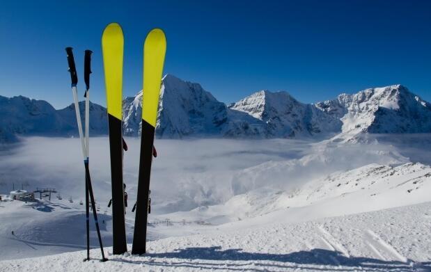 Alquiler de material de esquí o snow