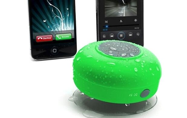 Altavoz waterproof con Bluetooth:4colores