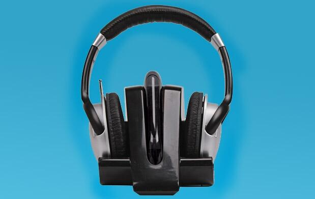 Auriculares inalámbricos blancos o negros