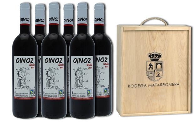 Caja de vino Bodegas Matarromera