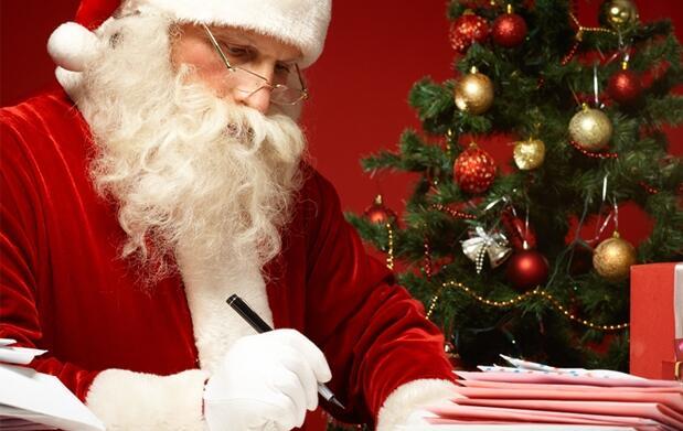 Carta de Papá Noel personalizada