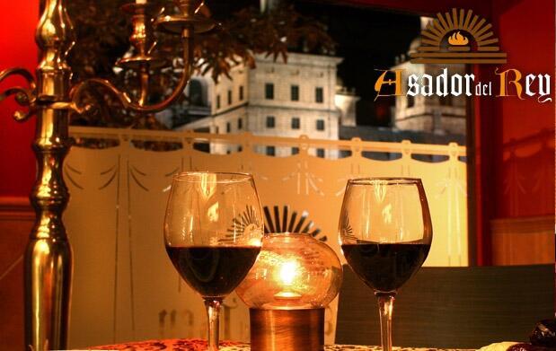 Cena y noche de hotel con encanto para 2 en El Escorial