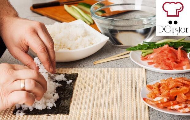 Curso de sushi y degustación
