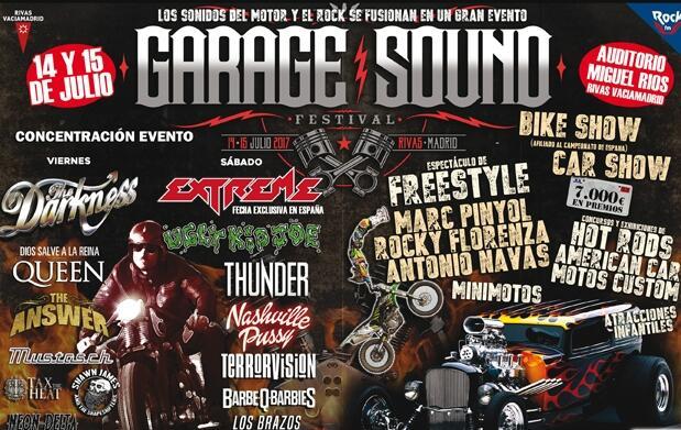 Entradas Garage Sound Festival Rivas- Vaciamadrid