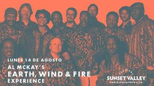 Al McKay's Earth Wind and Fire en Sotogrande: Sunset Valley Festival
