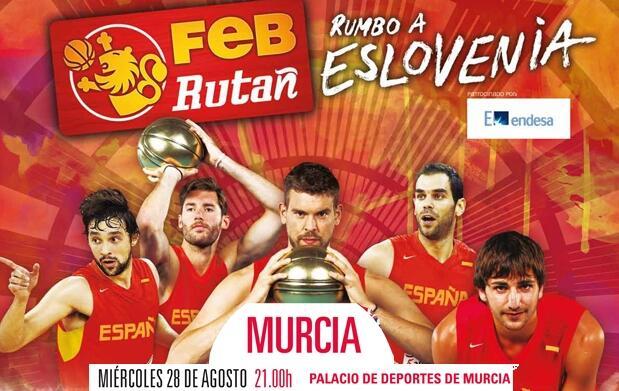 La Ruta Ñ: ESPAÑA vs GRAN BRETAÑA: Murcia