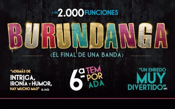 Entradas Burundanga en Madrid