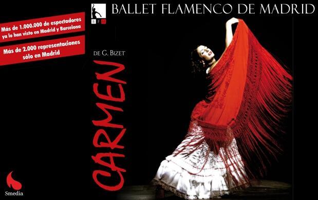 Carmen de Bizet. Ballet Flamenco