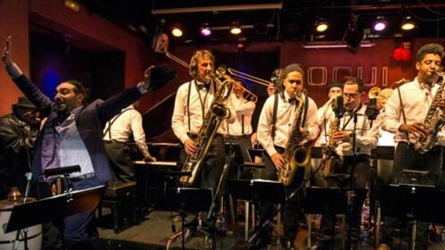 CMQ Big Band en el Café Berlín