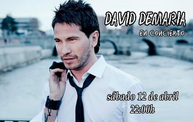 Concierto David DeMaría