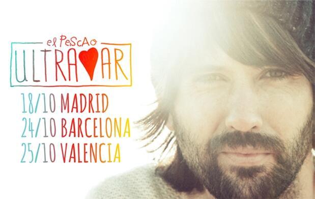 Entradas El Pescao 15€: Madrid, Barcelona y Valencia