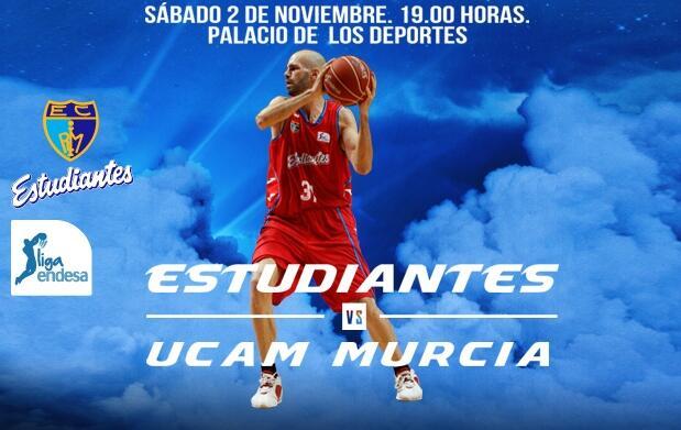 2 Entradas Estudiantes vs UCAM Murcia