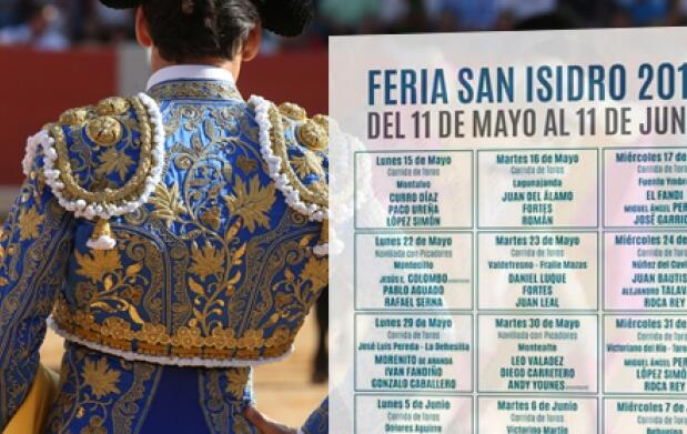 Mus e Invitación San Isidro: El Juli, Manzanares y Talavante