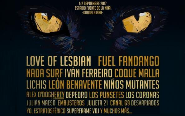 Entradas Festival Gigante 2017 Guadalajara