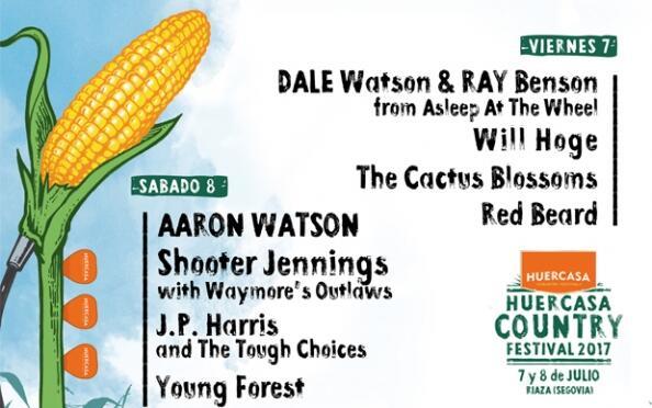 Entradas Huercasa Country Festival 2017