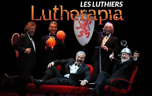 Entradas Les Luthiers: Lutherapia