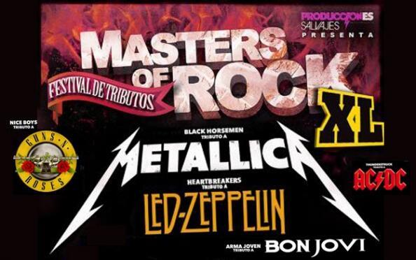 Entradas Masters of Rock XL Madrid y Valencia