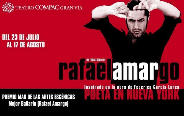 Rafael Amargo: Poeta en Nueva York