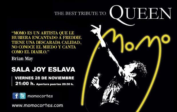 Momo: El mejor tributo a Queen