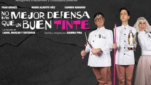 Entradas No hay mejor defensa que un buen tinte (Madrid)