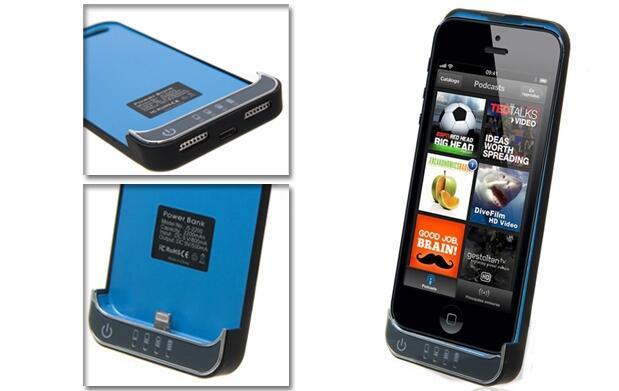 Funda con batería para Iphone 4 o 5