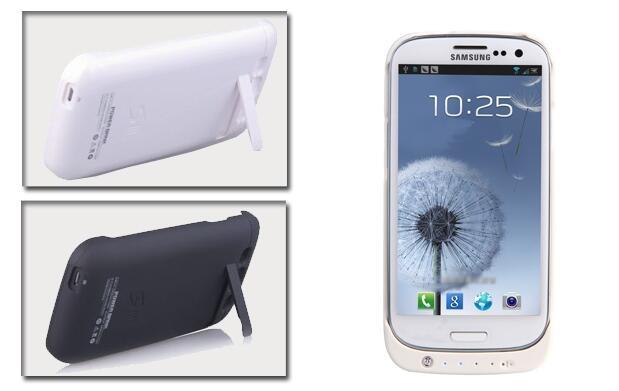 Funda con batería para Iphone y Samsung