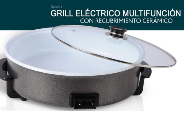 Grill eléctrico de cerámica