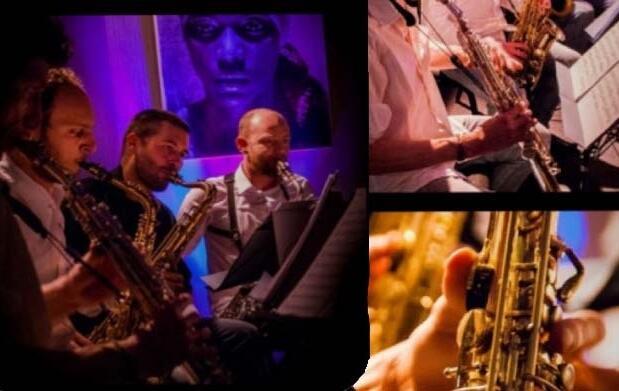 Jazz de lujo: Sax Quartet