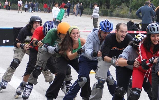 Curso de iniciación al patinaje