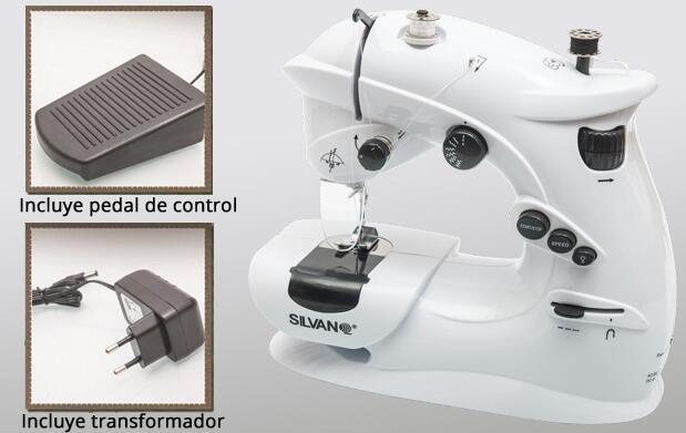 Máquina de coser portátil 7 puntadas