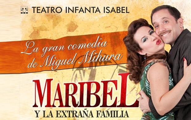 Entradas Maribel y la extraña familia