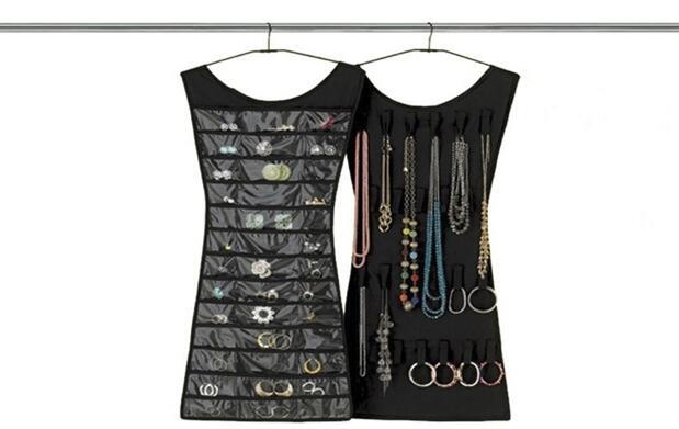 Organizador de joyas en forma de vestido