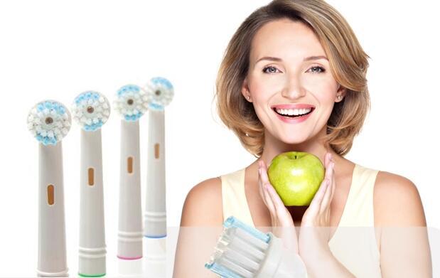8 recambios compatibles con OralB