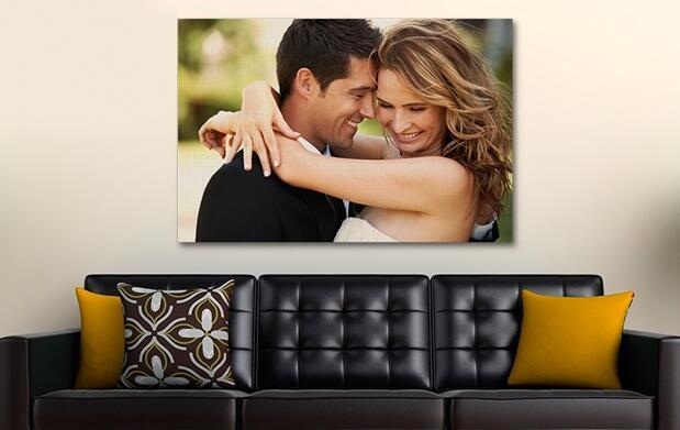 Fotos sobre lienzo: el regalo perfecto