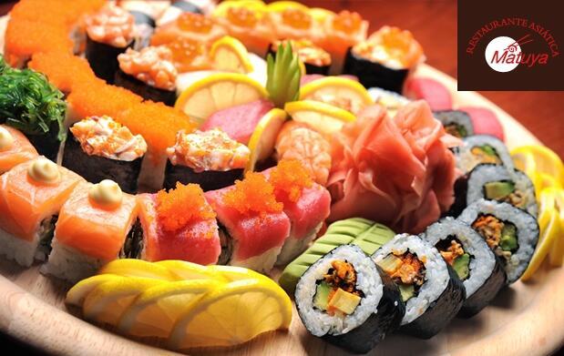 Barra libre de sushi para 2 personas