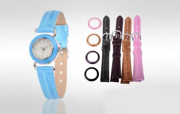 Set reloj con 21 correas y coronas