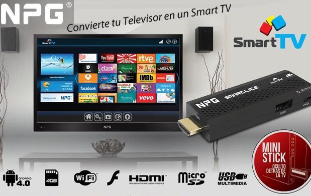 Smart TV de NPG Internet en tu televisión