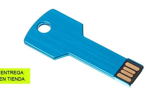 Memoria USB de 16GB en forma de llave