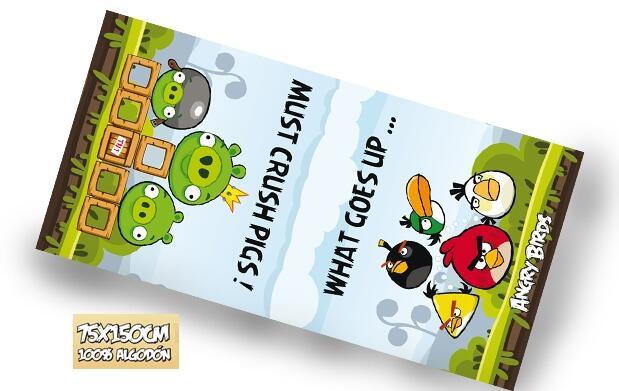 Toalla exclusiva Angry Birds