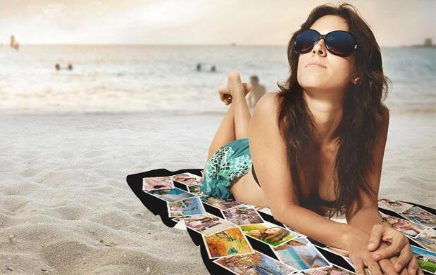 Este verano tu toalla con tu imagen.