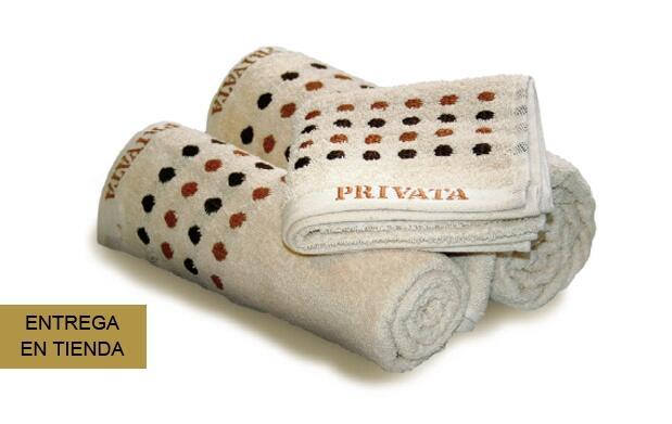 Juego de toallas de hogar PRIVATA