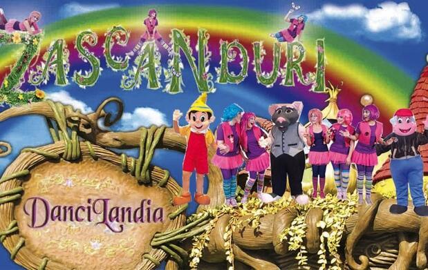Zascanduri: Venimos de Dancilandia