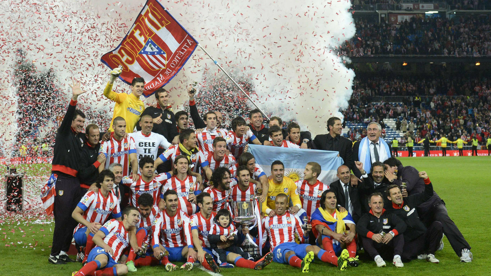 Final Copa del Rey: As lo celebr el Atltico
