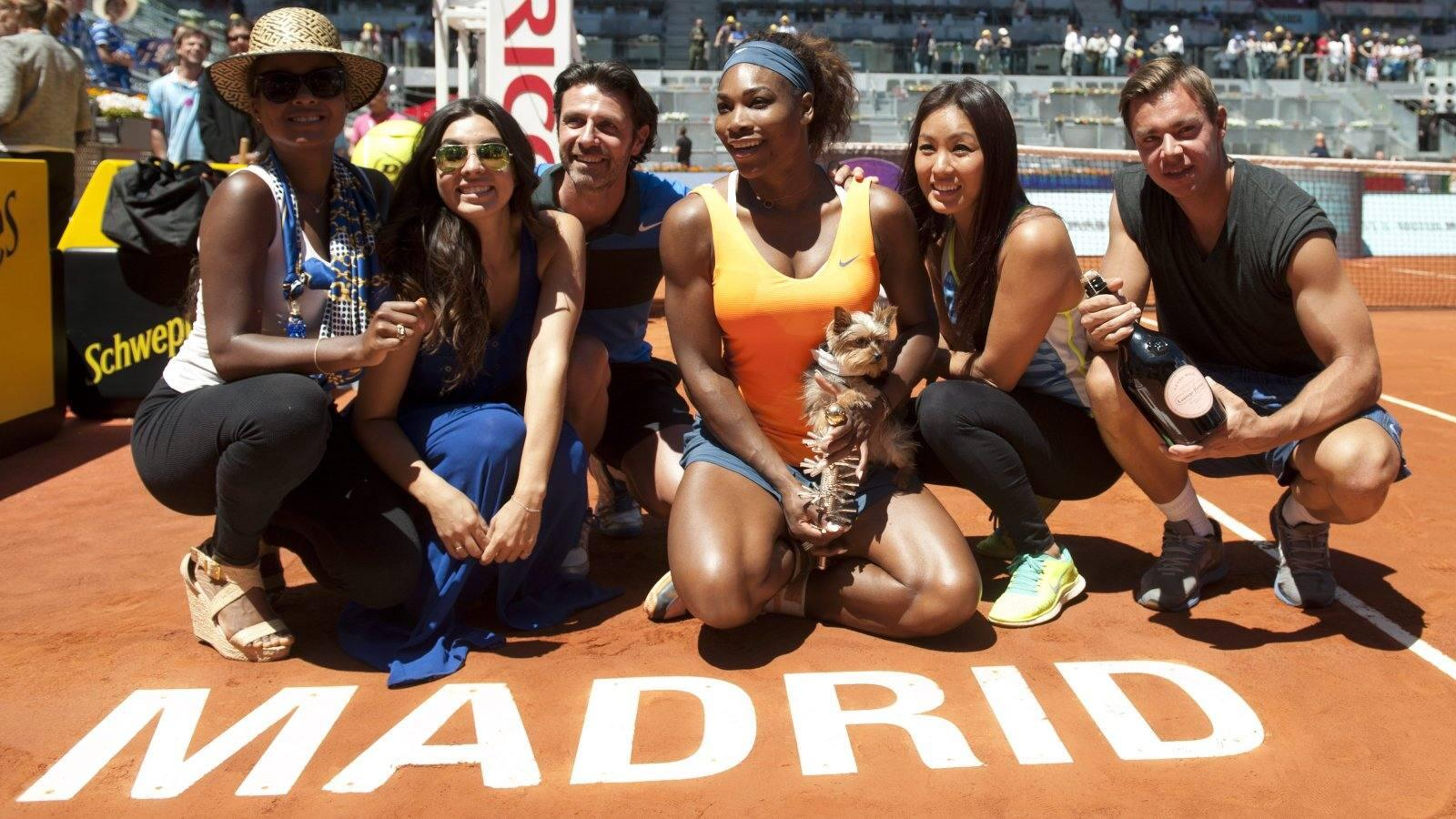 Serena Williams conquista en el Mutua Madrid Open su ttulo nmero 50