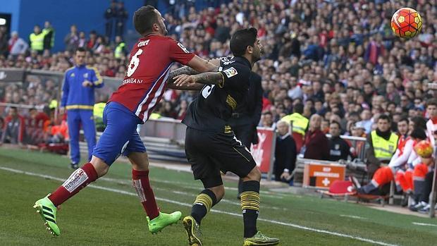 El empate de Atlético de Madrid y Sevilla FC, en imágenes