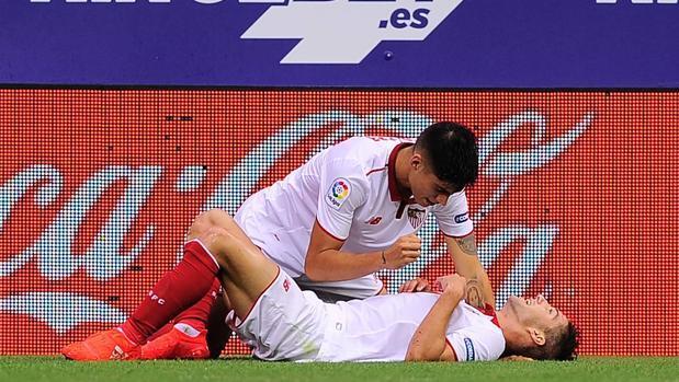Las mejores imágenes del Eibar-Sevilla FC